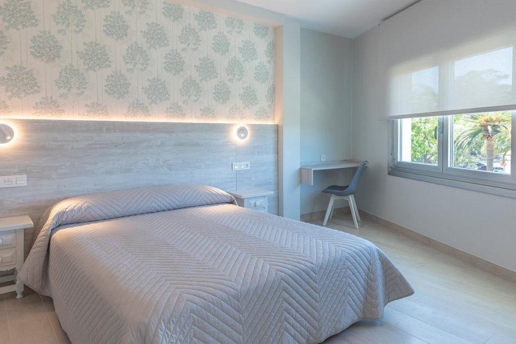 cama doble en hotel leal vilanova de arousa