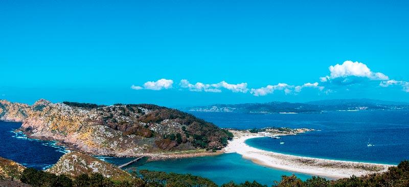 islas cies en galicia