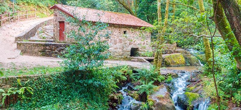 molino de agua de la ruta da pedra e da agua